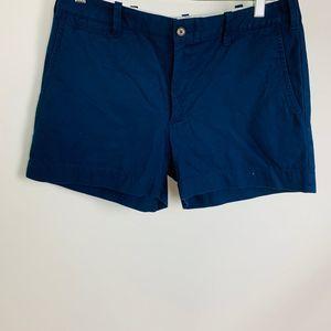 Polo Ralph Lauren Chino Navy Blue Shorts 6 NEW